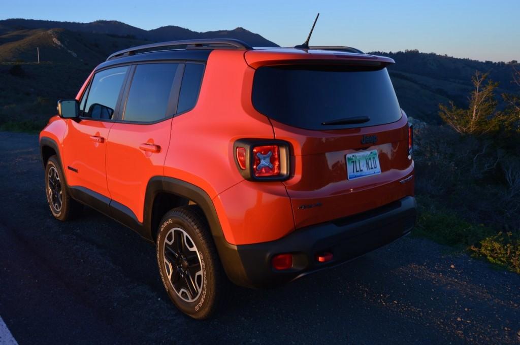 2016 Jeep Renegade Trailhawak 4 x 4
