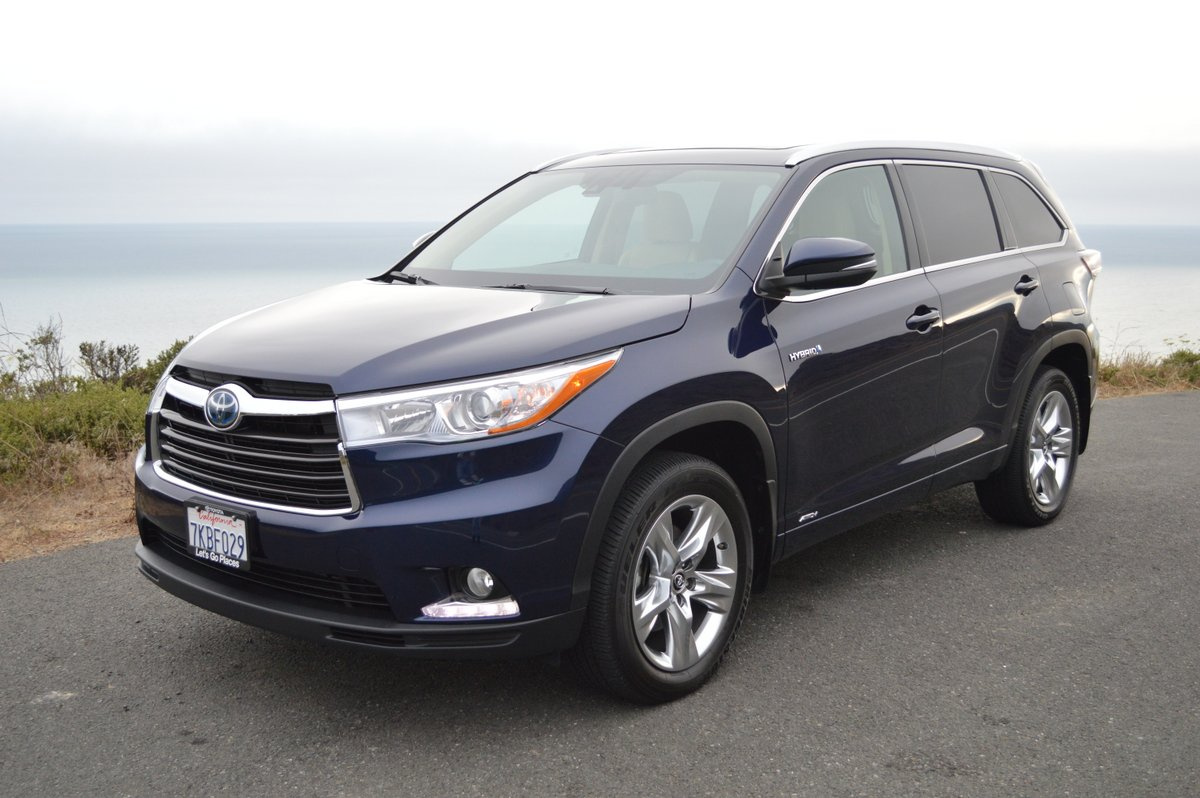 2016 toyota highlander hybrid limited review car reviews and news at. Black Bedroom Furniture Sets. Home Design Ideas