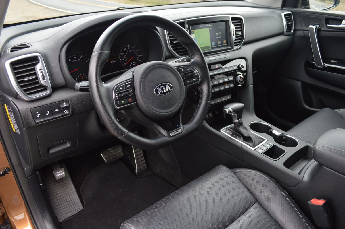 2017 kia sportage sx awd review car reviews and news at. Black Bedroom Furniture Sets. Home Design Ideas