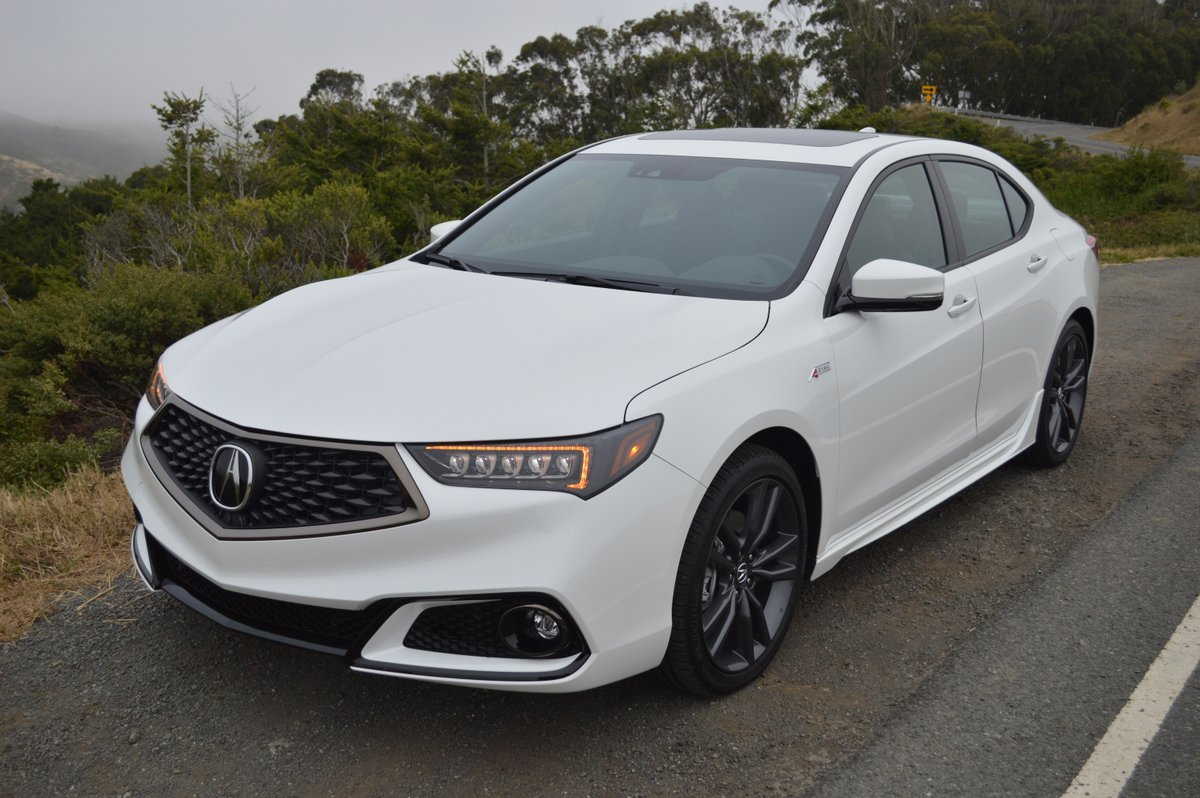 Acura TLX ASpec Review Car Reviews And News At CarReviewcom - Acura 2018 tlx price