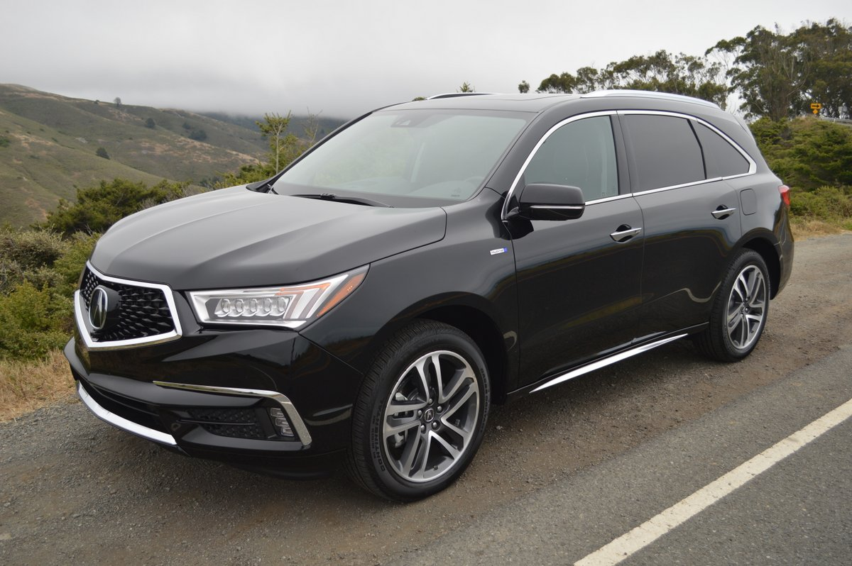 2017 Acura Mdx Sport Hybrid Awd Review Car Reviews And News At
