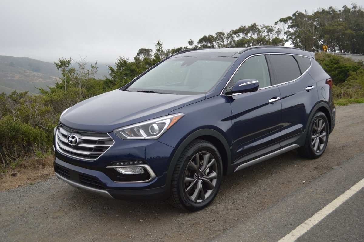 2018 hyundai santa fe sport 2 0t ultimate fwd review car reviews and news at. Black Bedroom Furniture Sets. Home Design Ideas