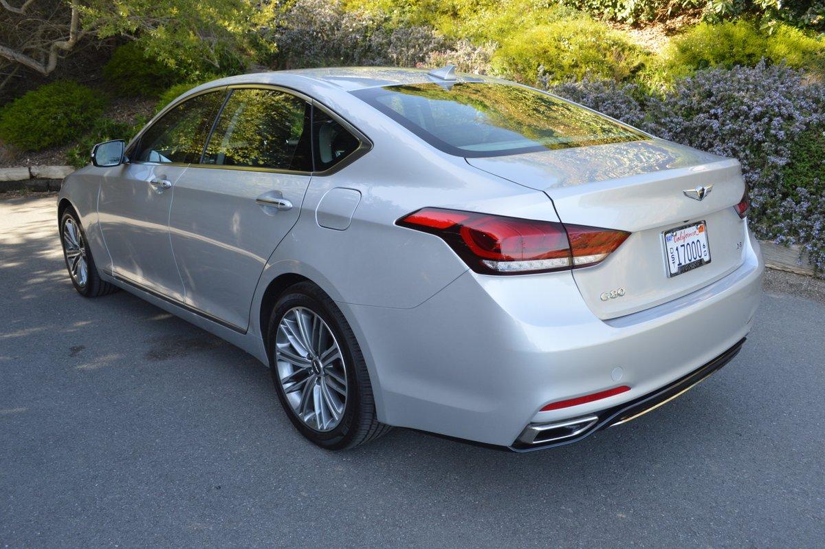 2018 Genesis G80 Rwd 3 8 Review Car Reviews And News At